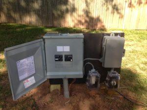 electrical pool pump wiring